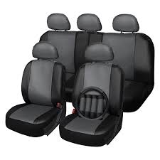 Buy > OxGord® SCPU-S2A-GY - Faux Leather 1st & 2nd Row Gray/Black ... Pin By Pradeep Kalaryil On Leather Seat Covers Pinterest Cars Best Seat Covers For 2015 Ram 1500 Truck Cheap Price Products Ayyan Shahid Textile Pic Auto Car Full Set Pu Suede Fabric Airbag Kits Dodge Ram Amazon Com Smittybilt 5661301 Gear Fia Vehicle Protection Dms Outfitters Custom Camo Sheepskin Pet Upholstery Faux Cover For Kia Soul Red With Steering Wheel Auto Interiors Seats Katzkin September 2014 Recaro Automotive Club Black Diamond Front Masque