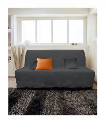 housse de canapé bz pas cher housse pour canapé bz adaptable couleur gris pas cher