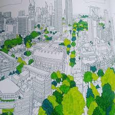Fantastic Cities RitaColoring BooksColouringCitiesPicture