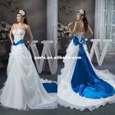 Wd 1638 New Arrival Strapless See Through Bodice A Line Skirt Royal
