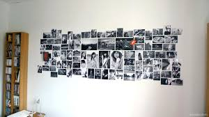 Photo Wall Collage Without Frames Layout Ideas Picture View In Gallery Black And White