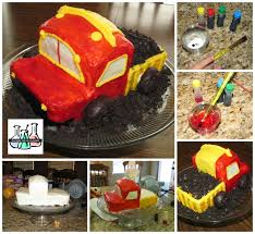 The Night Life Of A Scientist: DIY Edible Cake Paint (and How To ... Dump Truck Birthday Cake Design Parenting Cstruction Topper Truck Cake Topper Boy Mama A Trashy Celebration Garbage Party Tonka Cakecentralcom Best 25 Tonka Ideas On Pinterest Cstruction Party Housecalls Cakes Nisartmkacom Sheet Tutorial My School 85 Popular Cartoon Character Themes Cakes Kenworth For Sale By Owner And Trucks In Chicago Together For 2nd Used Wilton Dump Pan First I Made Pinterest