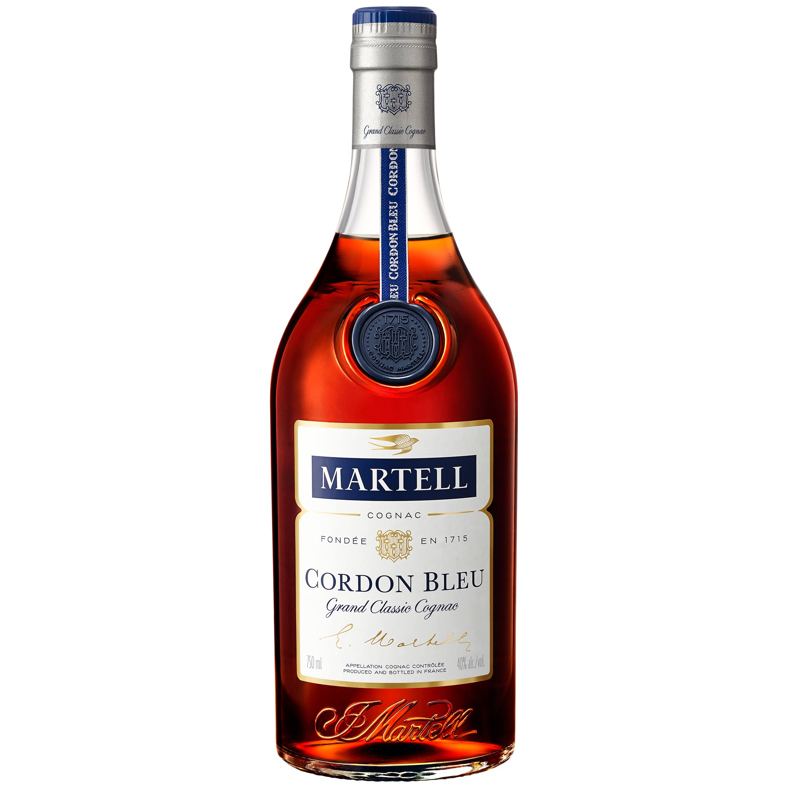Martell Cognac France Cordon Bleu 750ml Bottle