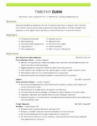 Resume Format For Experienced New Luxury Sample Military Best 30 Experience