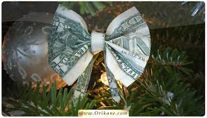 Money Origami Bow