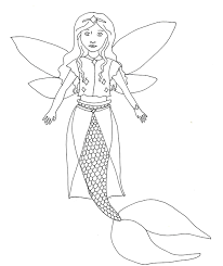 Barbie Fashion Fairytale Colouring Pages Coloring Games Princess Color Printable Mermaid Fairy To Print Full