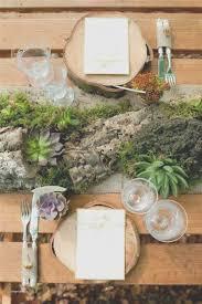 Fresh Rustic Wedding Round Table Settings Creative Maxx Ideas