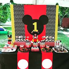 Mickey Mouse Party Decorations Best Ideas Kids Fiesta