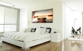 auf der see fläche für schlafzimmer leinwandbilder demur