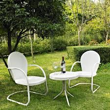 Crosley Furniture Griffith 3-Piece Metal Outdoor Conversation Seating Set Brompton Metal Garden Rectangular Set Fniture Compare 56 Bistro Black Wrought Iron Cafe Table And Chairs Pana Outdoors With 2 Pcs Cast Alinium Tulip White Vintage Patio Ding Buy Tables Chairsmetal Gardenfniture Italian Terrace Fniture Archives John Lewis Partners Ala Mesh 6seater And Bronze Home Hartman Outdoor Products Uk Our Pick Of The Best Ideal Royal River Oak 7piece Padded Sling Darwin Metal 6 Seat Garden Ding Set