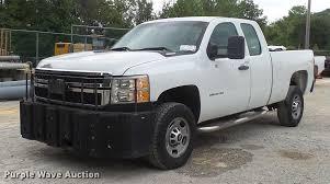 100 2013 Truck Chevrolet Silverado 2500HD Ext Cab Pickup Truck Item
