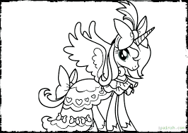 Unicorn Rainbow Coloring Pages Color