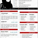 Resume Template Microsoft Word 2010 247519 Desain Cv Kreatif Contoh