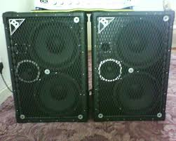 2x10 Bass Cabinet 4 Ohms by Acme Low B 2x10 Bass Cab Ideal For 5 String Speaker Cabinet
