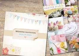 Easter Wedding Invitation Ideas