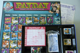 Pay Day Board Game By Waddingtons