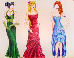 How To Draw DressesFashion