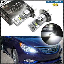 ijdm 6000k powered by luxen led h7 led bulbs for hyundai genesis
