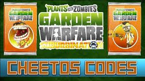 code promo s garden free 2 plants vs zombies garden warfare cheetos code