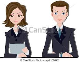 Female News Reporter Clipart