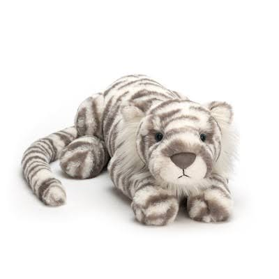 Jellycat - Sacha Snow Tiger Medium