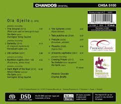 Phoenix Chorale Harrington String Quartet Alison Chaney Ted