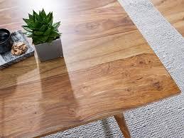 finebuy esszimmertisch sheesham rustikal massiv holz design landhaus esstisch tisch für esszimmer klein 4 6 personen