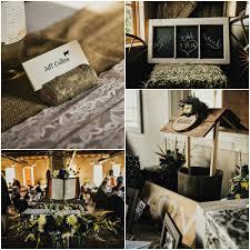Decorations Farm Rustic Wedding Details
