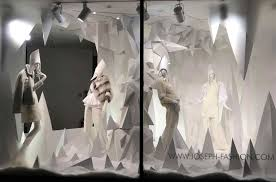 Air Takes Over Barneys New Yorkus Uptown S Vogue Hood Fashion Shop Window Display By