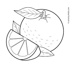 Pin Orange Fruit Clipart Black And White 14