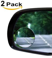 100 Auto And Truck Mirrors Unlimited Amazoncom 2 Blind Spot Mirror Oval Convex StickOn Rear View And