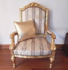 louis xvi chair antique antique giltwood louis xvi chair ebth