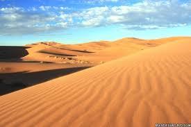 Sandstone Cliffs Sahara Desert