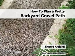How To Plan A Pretty Backyard Gravel Path Garden Eaging Picture Of Small Backyard Landscaping Decoration Best Elegant Front Path Ideas Uk Spectacular Designs River 25 Flagstone Path Ideas On Pinterest Lkway Define Pathyways Yard Landscape Design Ma Makeover Bbcoms House Design Housedesign Stone Outdoor Fniture Modern Diy On A Budget For How To Illuminate Your With Lighting Hgtv Garden Pea Gravel Decorative Rocks