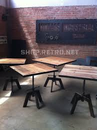 Adjustable Height Is A Great Idea. Vintage Industrial Cafe Table ... 149 Pierre Jeanneret Ding Table From The Cafeteria At Punjab Welcome To Mission Hills Auction Red Apple Fniture South Africa Product Categories Bar Cafe 2018 Past Auctions Superior Auction Appraisal Llc Lot 47 Mill Street Grafe 115 Jean Prouv Guridon Caftria No 511 Design 27 Lifetime Model 2829 Metal Framed Plastic Seat And Back Chairs On Raleigh Store For Bedroom Living Ding Room Restaurant Equipment Locate New And Used Houston Office Carrolls