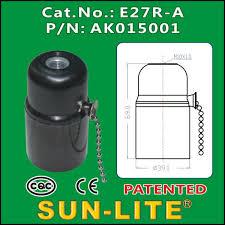 Sun Lite Lamp Holder by China E27 Pull Chain Switch Lamp Holder China E27 Pull Chain
