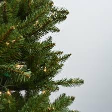 Fraser Fir Artificial Christmas Tree Sale by 9 U0027 Natural Fraser Fir Slim Artificial Christmas Tree Clear Lights