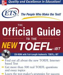 The Bestselling Official Guide To New Format Test Of English As A Foreign LanguageTM TOEFL Now Includes CDROM Providing Total Preparation For