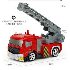 Shenqiwei 8027 Mini Ladder Fire Engine RC Car RTR