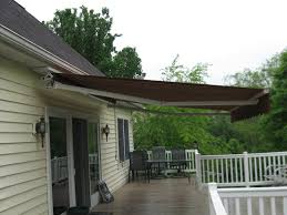 Soffit Mounted Eastern Sunflex Retractable Awning | Kreider's ... Outdoor Marvelous Retractable Awning Patio Covers For Decks All About Gutters Deck Awnings Carports Rv Shed Shop Awnings Sun Deck A Co Roof Mount Canopy Diy Home Depot Ideas Lawrahetcom For Your And American Sucreens Decor Cozy With Shade Pergola Design Magnificent Build Pergola On Sloped Shield From The Elements A 12 X 10 Sunsetter Motorized Ers Shading San Jose