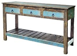 Crafters And Weavers Lompoc Console Table View In Your Room Rustic Tables Diy X