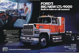 Photo: September 1981 Ford LTL-9000 Ad | 09 Overdrive Magazine ...