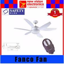 Ceiling Fan Balancing Kit Singapore by Fanco Evolution 52