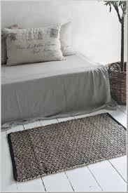 jdl vintage teppich läufer 100 jute zigzag 60x90cm