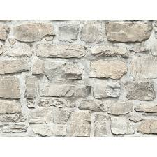a s création vliestapete il decoro stein beige grau