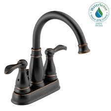 Delta Bathroom Sink Faucets Menards by Shining Bronze Bathroom Sink Faucet Faucets The Home Depot At