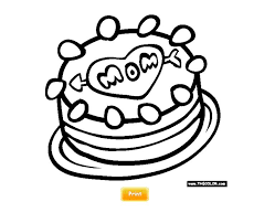 Printable Mothers Day Coloring Pages At TheColor