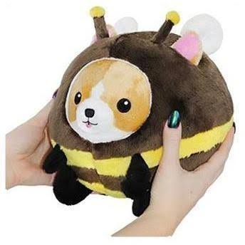 Squishable / UnderCover Corgi in Bee - 7""