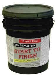 Zinsser Popcorn Ceiling Patch Msds by Start To Finish Flat White Latex Wall Interior Primer U0026 Paint 5