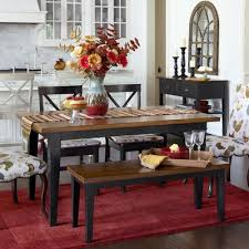 dining room cute dining table sets dining table with bench in pier